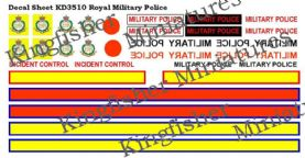 Royal Military Police Markings